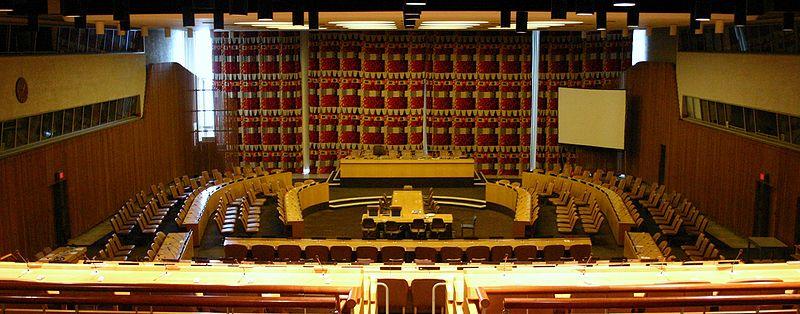 1945 <br>Création du Conseil économique et social des Nations Unies (ECOSOC)