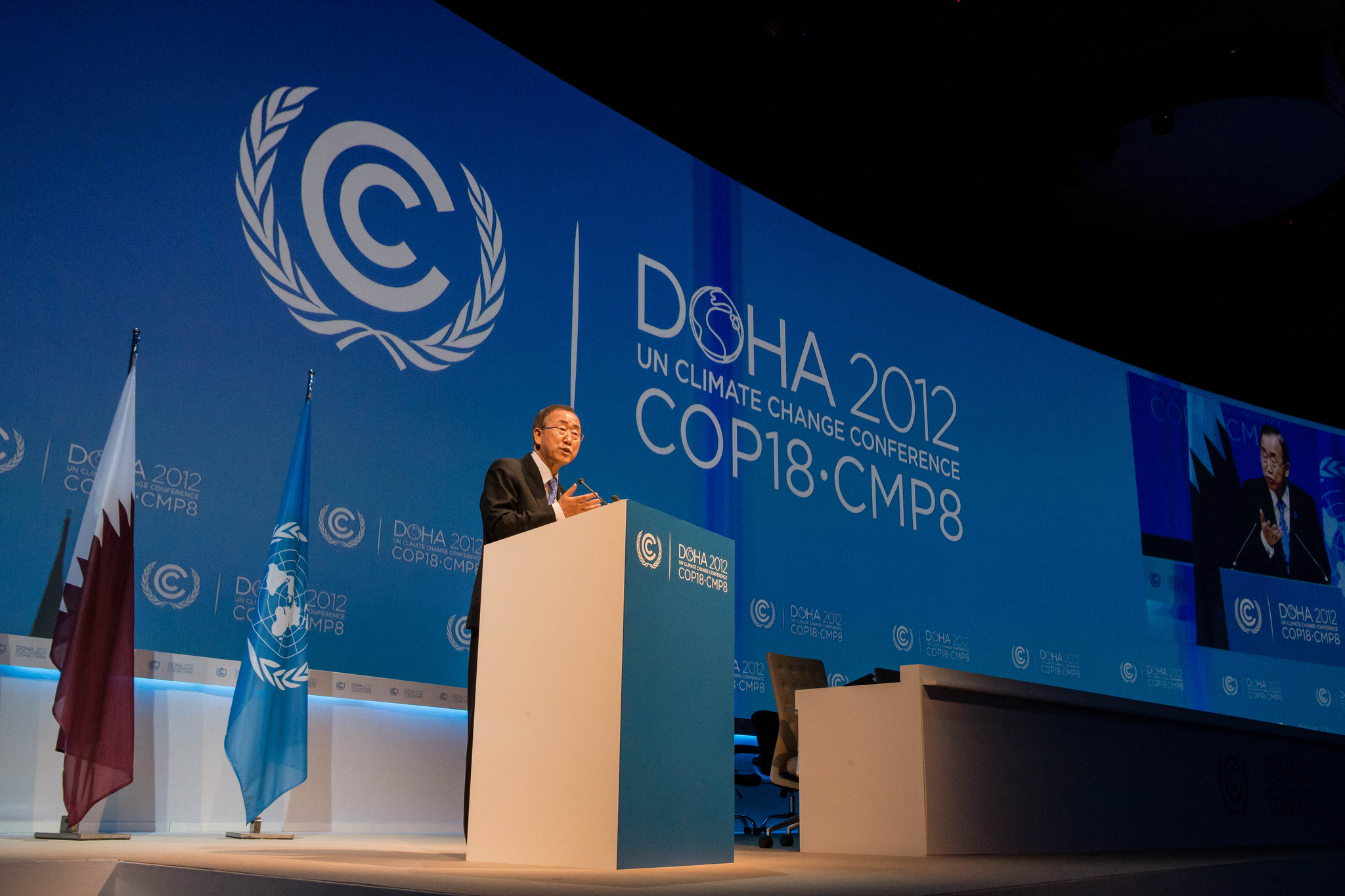 18ème Conférence des Nations Unies sur les changements climatiques (COP 18)