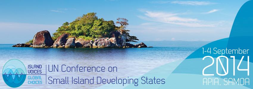 2014 <br>3ème Conférence onusienne des petits Etats insulaires en développement