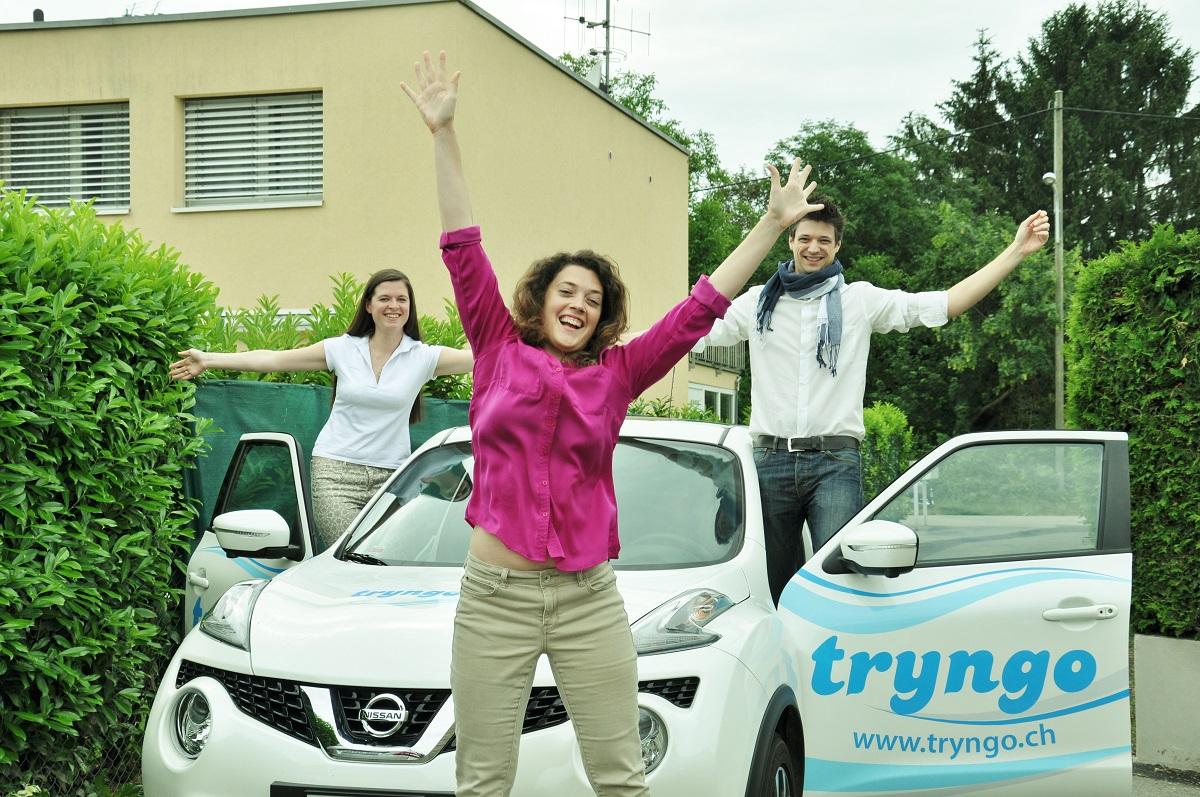 2015 <br>Tryngo facilite l'économie du partage