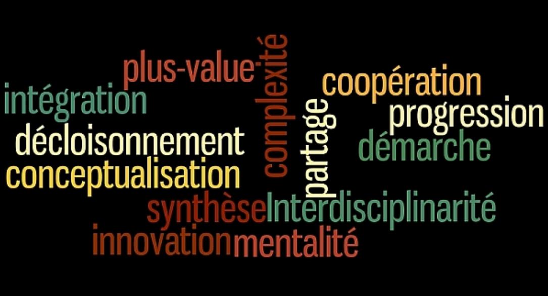 – Multi- Inter- et Transdisciplinarité