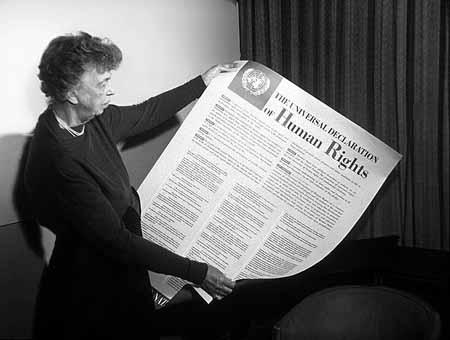1948 <br>Déclaration Universelle des Droits de l'Homme
