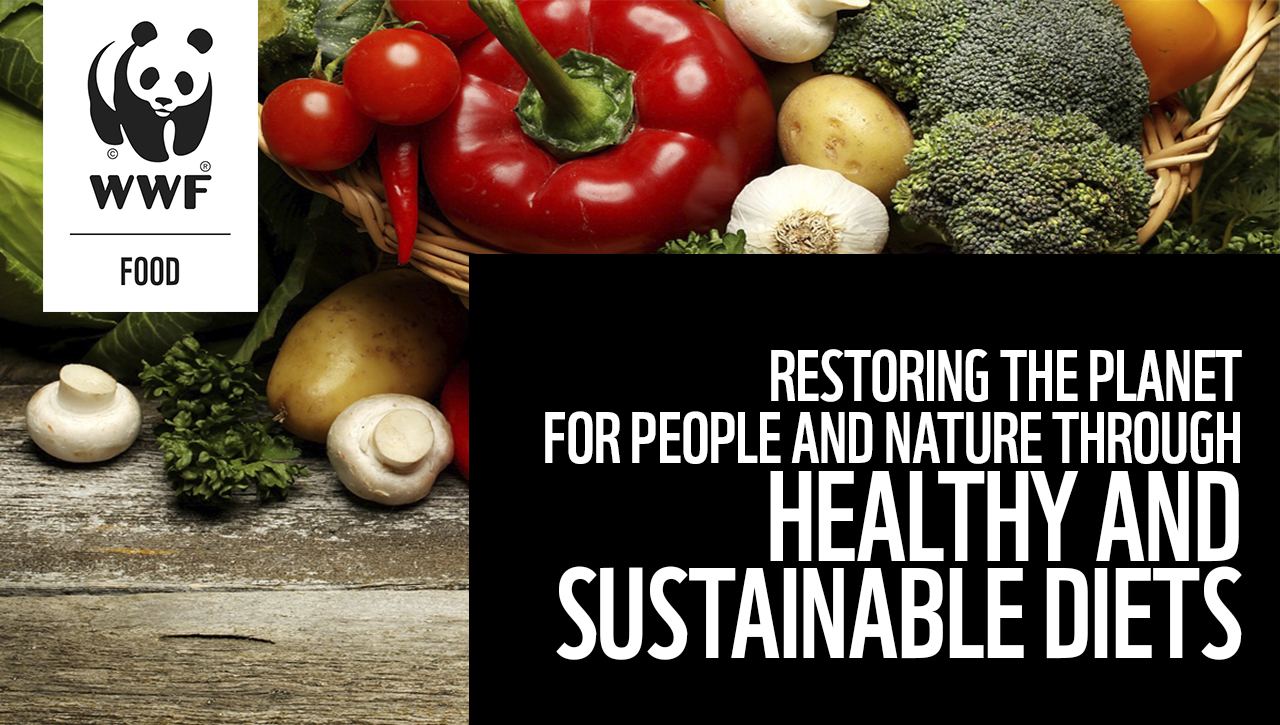 Restoring the Planet for People and Nature through Healthy and Sustainable Diets